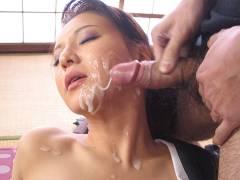 Yuki Tsukamoto moans while fucking shady men