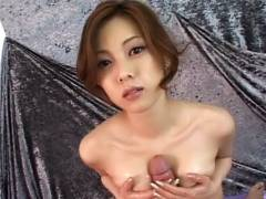 Super Hotey Miho Maejima Works Hard To Make Her Man Cock juice