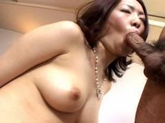 Horny hairy twat Japanese nailed hard!